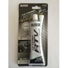 Герметик прокладок ALTECO высокотемп.85 гр.315 C,черный (1x12),(1х144)