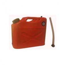 Канистра T-Max 10л с шлангом для авто, бензин, солярка  (1х4)