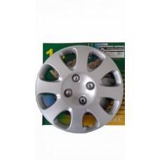 Колпак на диск 14*  серебристый  1х4