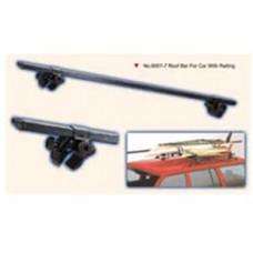 Багажник на крышу с бок. рельсами (черный)