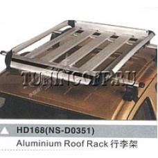 "Багажник на крышу 55*39,5"" silver 1х1"