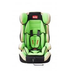 Детское сиденье GANEN, унив. черн+беж+зелен 9-18, 15-36 кг (1х2)