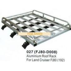 Багажник  на крышу алюмин.TT  FJ80 Aliminium Root Rod For lend CraiserFJ80