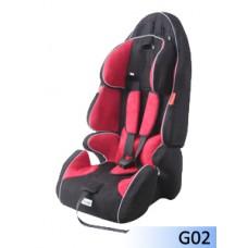 Детское сиденье GANEN, унив. красный+черный 9-18, 15-36 кг (1х2)