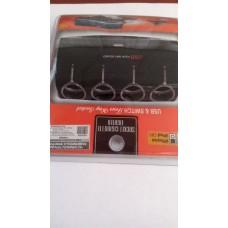 Зарядное устройство   на моб. тел., черный 12V/24V 1000ma USB 5v 4в1 прикуриватель 4 входа, 1х60