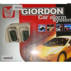 Сигнализация GIORDON 2-х стор. связь, пульт с жкд. РД 200 м.