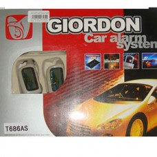 Сигнализация GIORDON 2-х стор. связь, запус. двиг. с турбо таймером